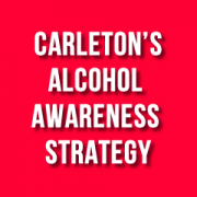 """Red box with """"alcohol awareness strategy"""" wording"""