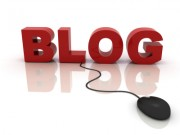 Blog icon with mouse