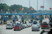 U.S. Canada border crossing