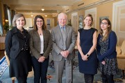 CU grad students meet with the governor general