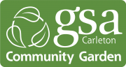 Logo for GSA's community garden