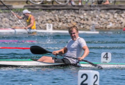 Geoffrey Clarke kayaing