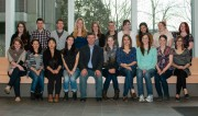 Group shot of 2013 interns heading to Africa for 2013-14