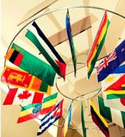 flags in Galleria