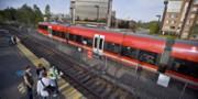 O-Train pulls on campus