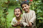 Qardash photo of 2 children