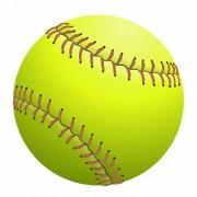 big yellow softball