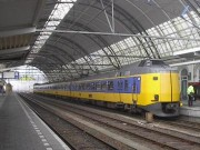 High Speed Train in Zwolle Station