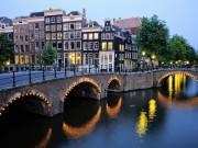 scenic shot of Amsterdam