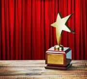 award - star-red curtain