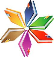clipart of books in a spiral