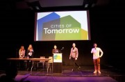 Team Milieu competing in the Cities of Tomorrow competition