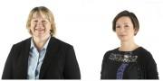 Kathy Dobson and Natalie Linklater head shots