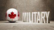 "Cdn. flag with word ""military"" in front"
