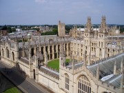 wide shot of Oxford University