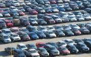 parking lot full of cars