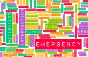 safety-emergency word map