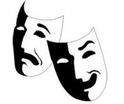 sock 'n buskin - two masks