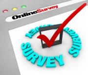 checkmark on a survey