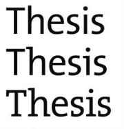 Thesis (word repeats)