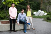 3 students together featured in this article