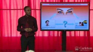 Thumbnail for: 3 Minute Thesis: How Autistic Traits Can Frustrate Dating