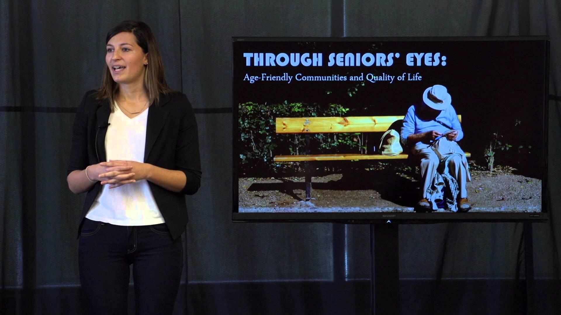 3MT Participant Anna Tomczak on age-friendly communities
