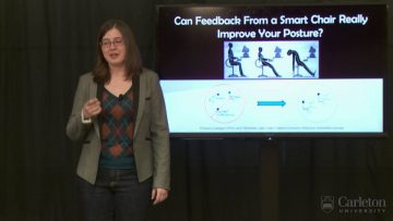 Thumbnail for: Jessica Speir (Human Computer Interaction):  Can Feedback From a Smart Chair Really Improve Your Posture?