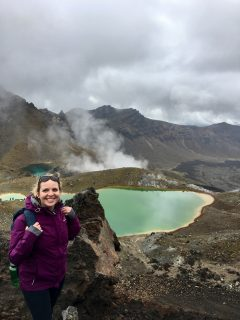 Chloe-Tongariro crossing_emerald lakes NZ