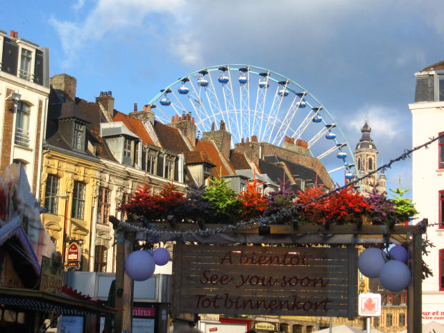 Xmas market in Lille