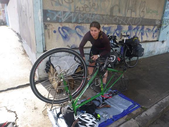 Perkins-fixing bike