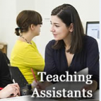 A TA - says Teaching Assistants on the bottom