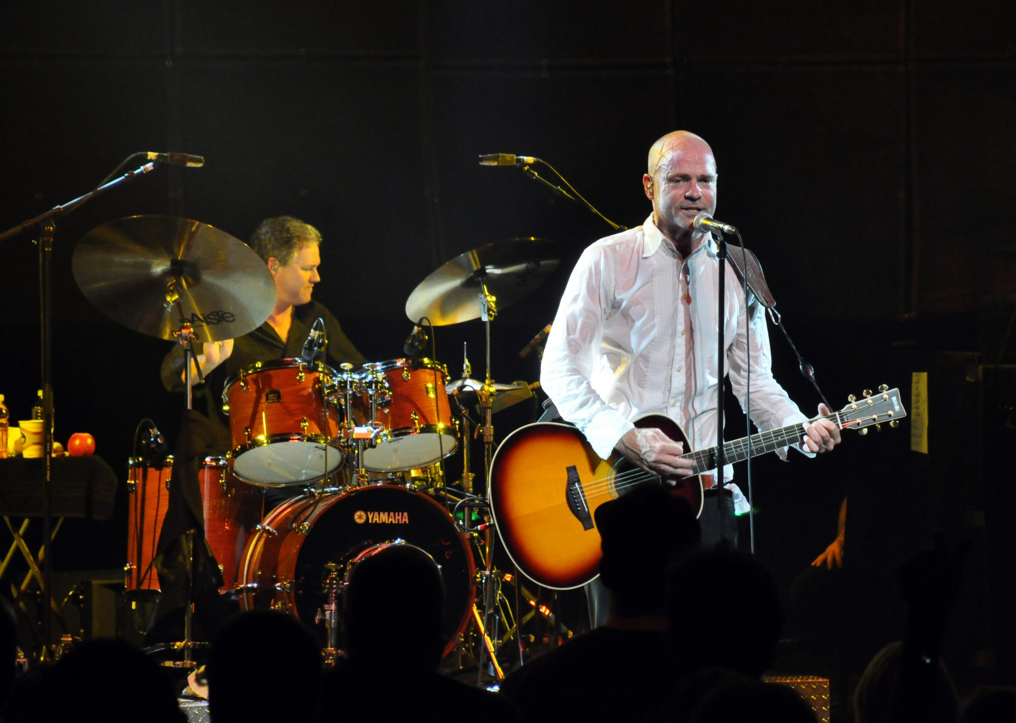 Tragically Hip performing