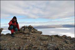 Zoe Panchen - Summit at McGill Mtn Lake