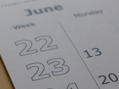 Photo for the news post: Important Dates