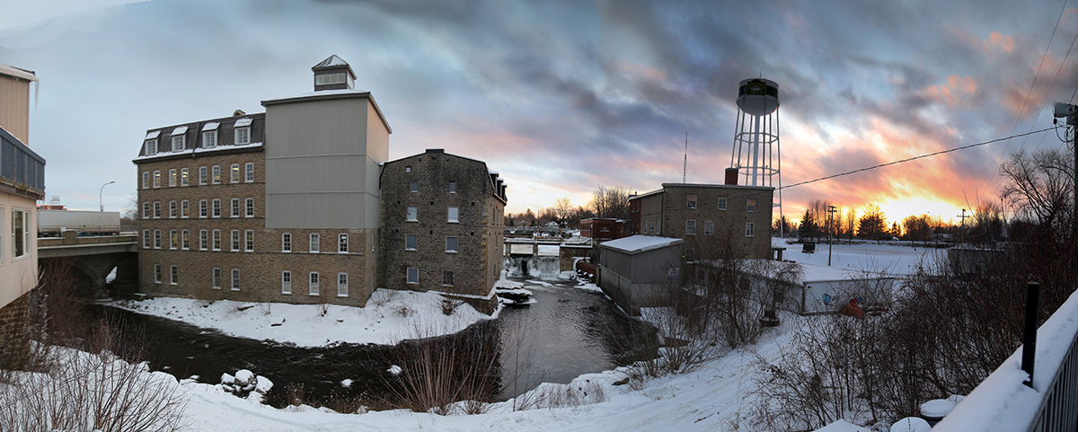 panorama of the mill