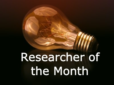 Photo for the news post: Researcher of the Month: Dr. Rachel Burns